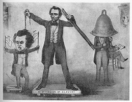 Great and astonishing trick of Old Abe, the Western juggler