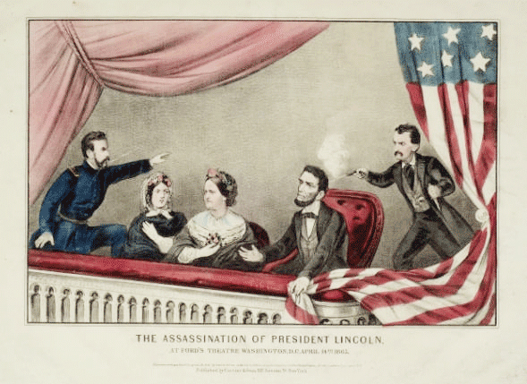 Assassination Of President Lincoln At Ford S Theatre