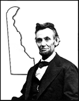 Abraham Lincoln and Delaware