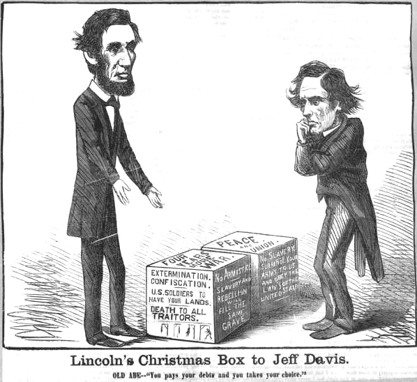 Lincoln S Christmas Gift To Jeff Davis Abraham Lincoln S Classroom