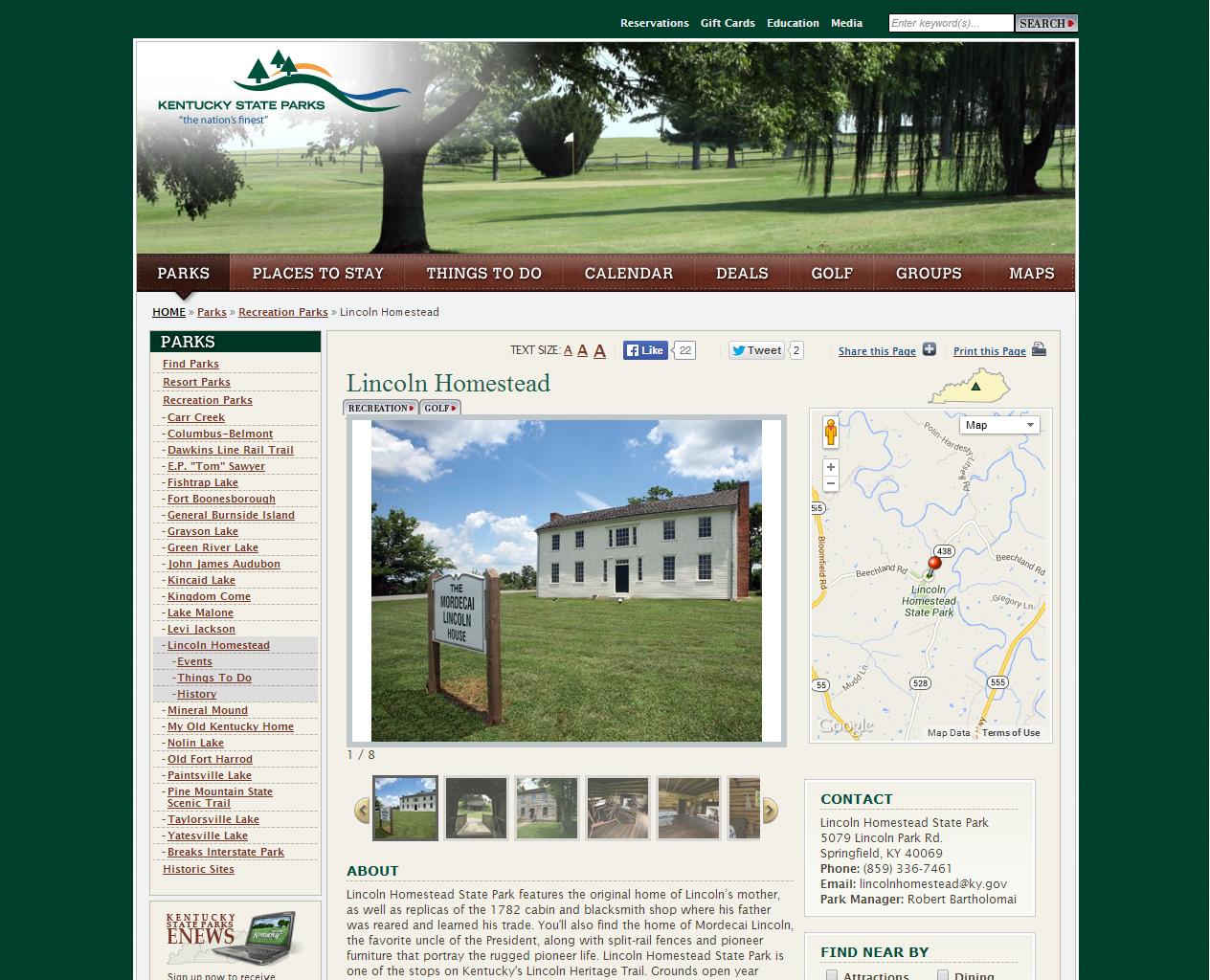 Kentucky Department of Parks